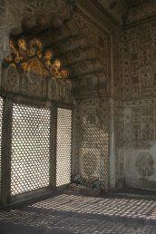 Beautiful inlay work at the Khaas Mahal
