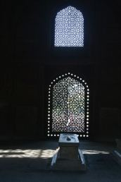 A cenotaph at the Humayun's Tomb Complex